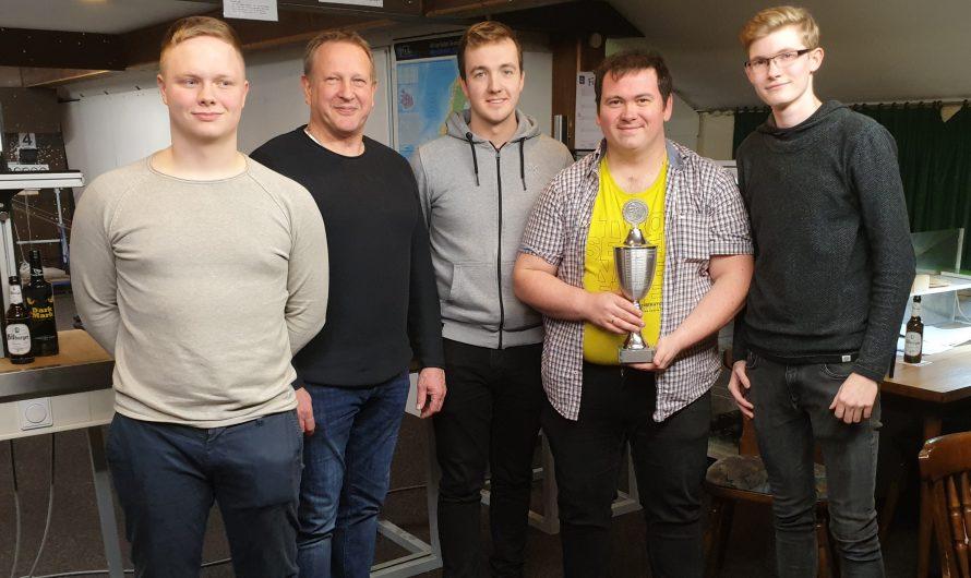 Björn Thanisch ist Sieger des Winterpokalschiessens 2020